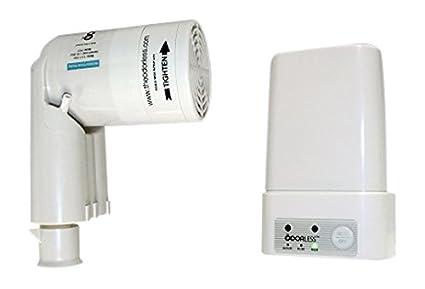 Amazoncom The Odorless Toilet Fan One Size Off White Home Kitchen - Bathroom odor eliminator fan