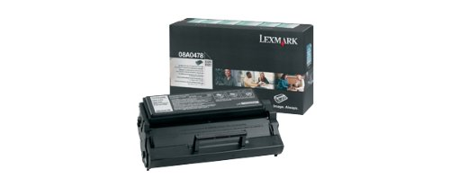 Lexmark 08A0478 Return Program High-Yield Toner, Black - in Retail Packaging