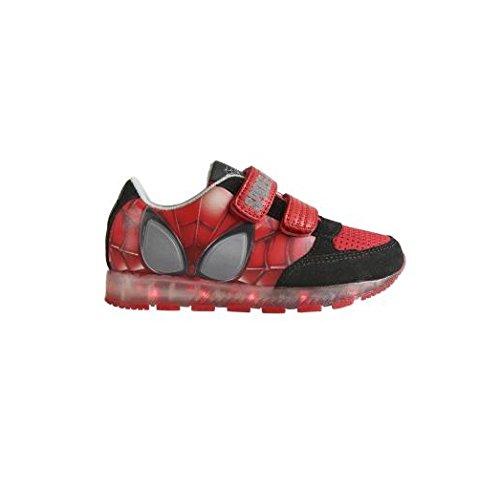 Zapatillas deportivas con luz Spiderman- Talla 26: Amazon.es: Zapatos y complementos