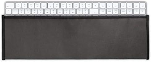 kwmobile Hülle kompatibel mit Apple Magic Keyboard mit Ziffernblock - PC Tastatur Schutzhülle - Keyboard Staub Cover Case - Dunkelgrau
