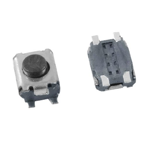 DealMux a12011500ux0291 5 Momentary Tactile Tact Push Button Switch, 4 Pin SMD SMT, 3 mm x 3.5 mm x 2 mm DLM-B008LT25NM