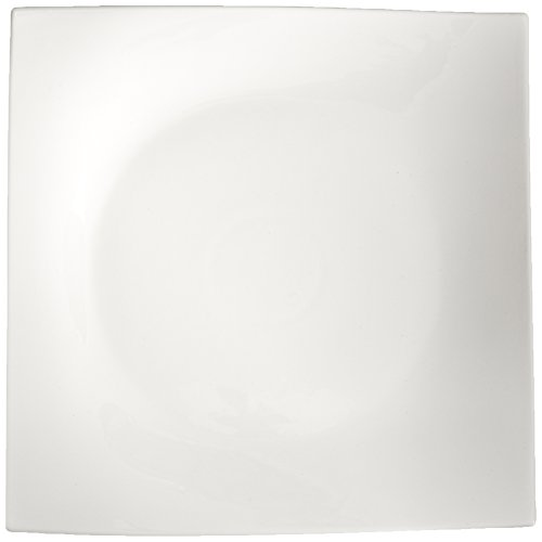 - Maxwell and Williams Basics Motion Square Platter, 12-Inch, White