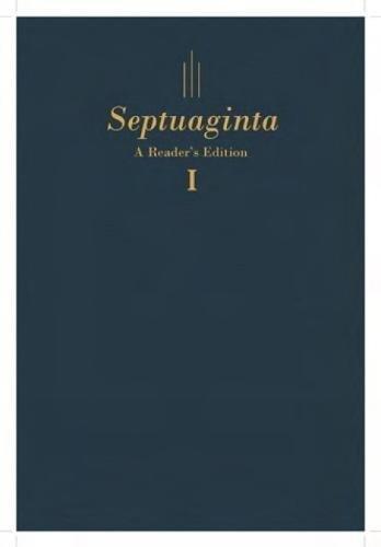 Septuaginta: A Readers Edition Hardcover (English and Greek Edition)