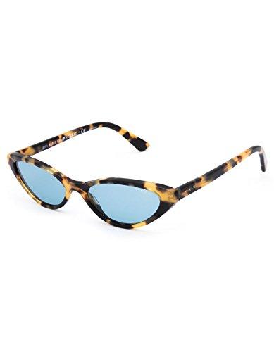 Yellow 260580 Sol 52 0VO5237S de Tortoise Mujer VOUGE Brown Bluee Gafas para Amarillo zORUxOq5w