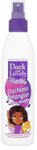 3 opinioni per softsheen-carson Dark & lovely Beautiful Beginnings Ouchless Detangler spray