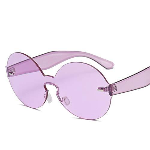 8ec677316646 Bharat Ventures purple  Unisex Oversized Round Sunglasses Women Brand  Designer One Piece Shades Sun Glasses Men Cl  Amazon.in  Clothing    Accessories