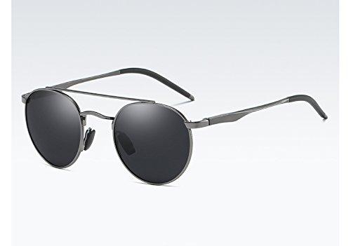 Sunglasses de de UV400 Homme gray Lunettes Soleil Polarisées Protection Lunettes Lunettes Froid Lunettes de Hommes Soleil gray TL 1qHdURH