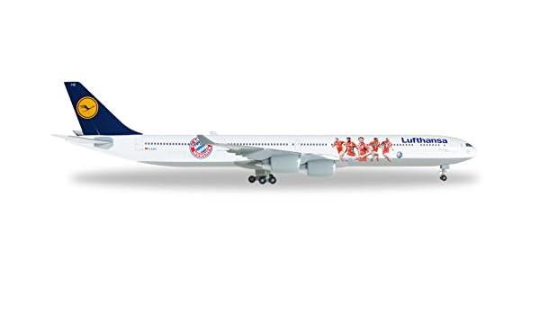 Herpa Wings 1:500 Airbus A340-600 Lufthansa FC Bayern Summer Tour 529747