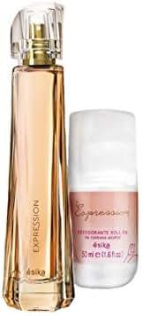 Expression Set for Women by Esika, Eau de Parfum 1.7 fl. oz. and Antiperspirant Roll-On Deodorant 1.7 fl. oz.