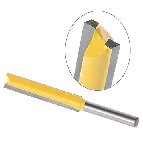 """LALICORP 1/4"""" Shank Extra Long Straight Router Bit Trimming Blade - 3/8"""" W x 2"""" H L15 BRAND NEW"""