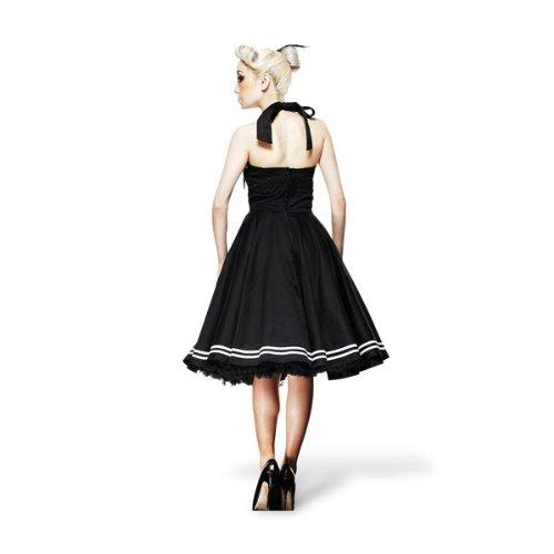Vestido Rockabilly - Motley - Estilo Pin Up - negro: Amazon.es: Ropa y accesorios