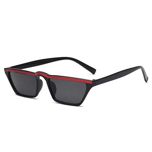 de gafas E sol gafas Unidos de de ojo gafas de las sol marco gato y los pequeño Retro hombres cejas de de Aoligei Europa Estados qnw46ZTSxI