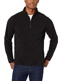 Men's Quarter-Zip Polar Fleece Jacket