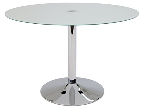 Pastel Furniture Sundance Dining Table, Frosted Glass