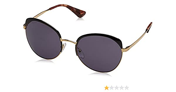 7608a1feb99df ... order prada womens pr 51ts sunglasses antique gold black brown 56mm at  amazon mens clothing store ...
