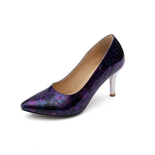 Compensées Sandales Violet AN Femme 5 DGU00693 Violet 36 4fq1wE7x