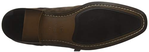 Dune Prospect, Scarpe Stringate Derby Uomo Marrone (Brown Brown)