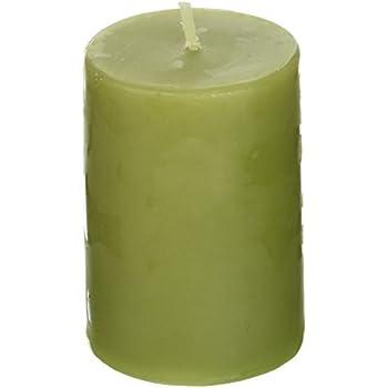 Amazon Com 2 X 3 Sage Green Pillar Candle Home Amp Kitchen