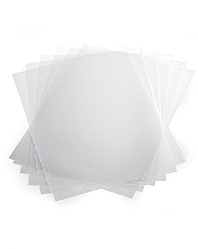 Durable 293919 Klemmschienenhülle (PP, für circa 1-100 Blatt) 50 Stück transparent