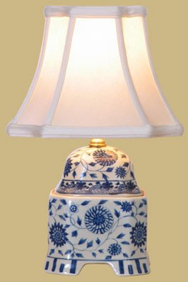 Blue Amp White Porcelain Cover Jar Lamp Table Lamps