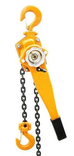 3/4 Ton Lever Block Chain Hoist Ratchet Type Come Along Puller 5FT Chain ()