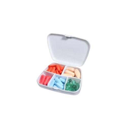 Vitaminder Pocket Pill, Divided Pill Case, 60 Tablets