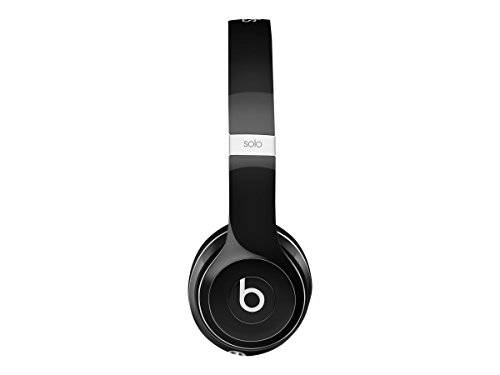Beats By Dre Solo 2 Luxe Edition On-Ear Headphones | Black (WIRED,  Not Wireless) by Beats (Image #6)
