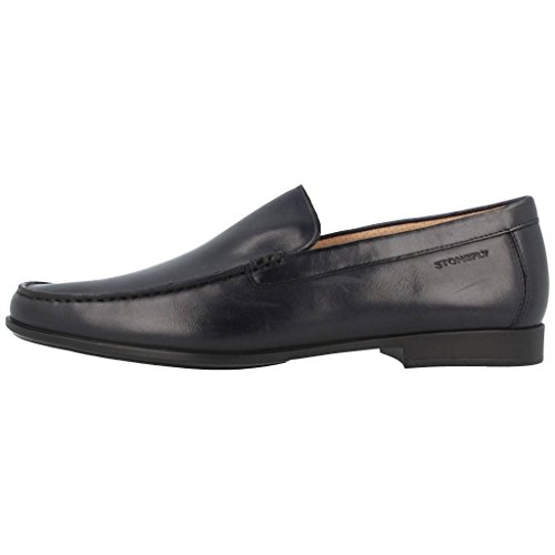 STONEFLY 106714 black absolute comfort man loafers leather shoes Black zvw7E7E