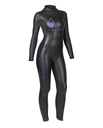 Neopren Anzug Pursuit Damen schwarz-silber-violett M