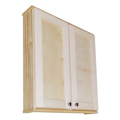 Shaker 29″ x 31.5″ Surface Mount Medicine Cabinet Size: 8″