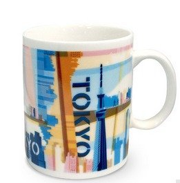 a251a097e7f Image Unavailable. Image not available for. Color: Starbucks Japan City Mug  Tokyo
