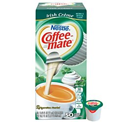 Coffee-Fellow Irish Creme Liquid Creamer 50 Single Serve 3/8 FL OZ