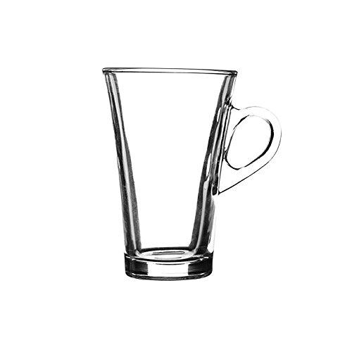 Essentials Irish Coffee, Cappuccino, Herbal Tea Latte Glasses Approx. 30cl (300ml) (6) UKB