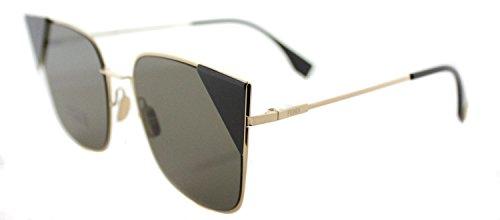 Sunglasses Fendi Ff 191 /S 0000 Rose Gold / 2M brown ar - Fendi Sunglasses 2017