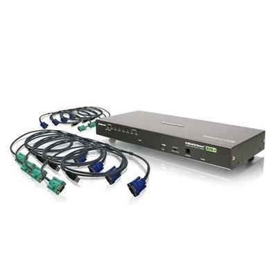 Iogear 8 Port Kvm Switch Usb (gcs1808kitutaa) -