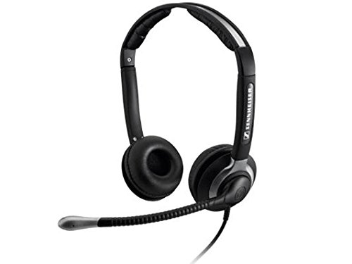 Sennheiser Binaural Headset with Xl Ear Cap (CC 550) (Portable Headset Sennheiser)