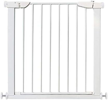 Hfyg Barrera de Seguridad Barrera de Seguridad For Puertas Metálicas For Mascotas, Puertas For Bebés Extra Anchas Y Altas For Puertas De Escaleras Puerta de Seguridad (Size : Length 103-110cm): Amazon.es: Hogar