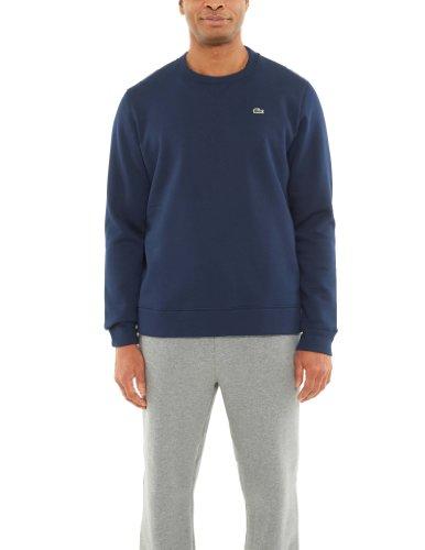 Lacoste Crew Neck Sweat Shirt Style: SH1100-51-166 Size: L Navy Blue