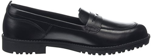 Kickers Lachly Loafer 114210 - Mocasines Mujer Negro