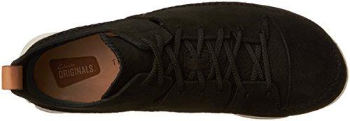 CLARKS Trigenic Flex Suede Nubuck Black Sneakers Men's OrqvxO