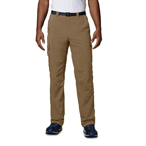 Columbia Men's Silver Ridge Cargo Pants, Moisture Wicking, Sun...