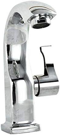 流域ミキサータップ、浴室のミキサーのタップ、標準継手付き10年保証シングルレバースイベルスパウト現代のキッチンシンク流域ミキサータップ