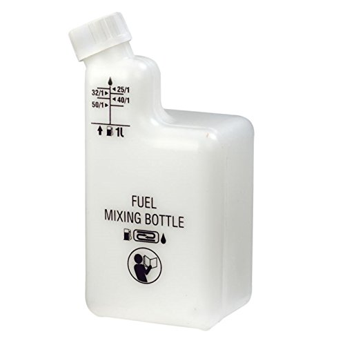 RA Fuel & Oil Mixing Bottle for 2 Stroke engined Brushcutters, - 2 Cycle Mixture