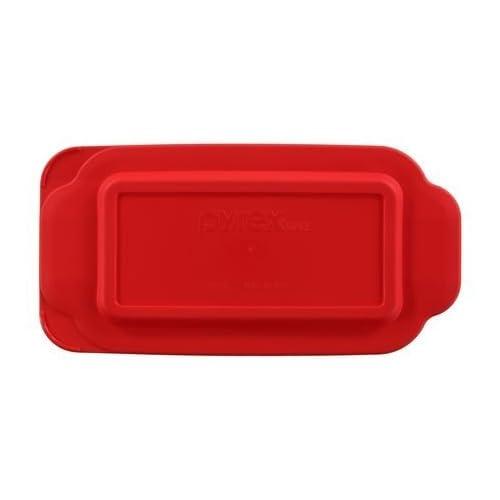 Pyrex - Red 1.5 Quart Loaf Dish Lid