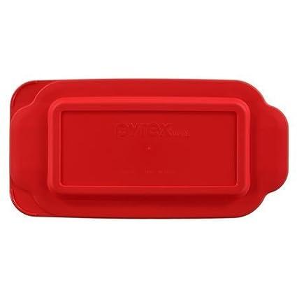 Pyrex - Red 1.5 Quart Loaf Dish Lid 1106669