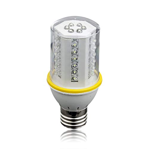 Plata RoadRoma 42 LED 2W E27 Tornillo de Ahorro de energ/ía Bombilla Blanca 110V