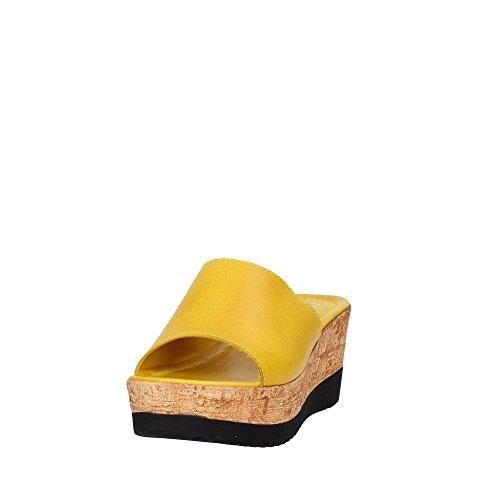 Cinzia Soft IAF 2331-28T 003 Chancla Mujer Amarillo