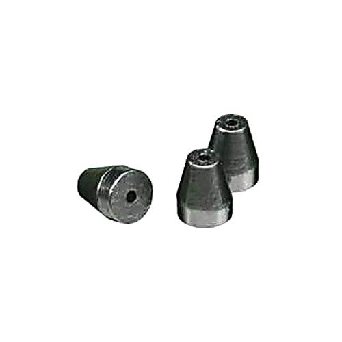 RESTEK 20232 Standard Ferrule for 1/16'' Compression-Type Fitting, VG2, 0.6 mm ID, 60% Vespel/40% Graphite, Vespel/Graphite (Pack of 10)