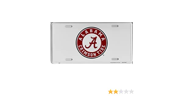2 Pack Alabama Crimson Tide Aluminum Metal Auto Emblem Car Decal Sticker NEW