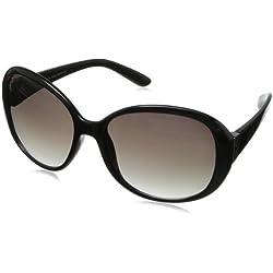 Calvin Klein Women's CWR647SL 206 Round Sunglasses